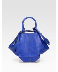 Alexander Wang | Blue Marina Top Handle Bag | Lyst