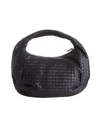 Bottega Veneta - Blue Tourmaline Intrecciato Leather Belly Veneta Hobo - Lyst
