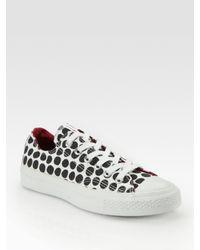Converse | White Marimekko Polka-dot Print Sneakers | Lyst