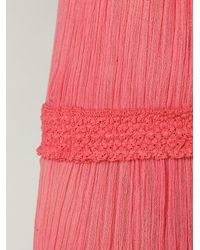 Free People | Pink Daydream Crinkle Maxi Dress | Lyst