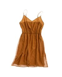 Madewell | Brown Sparklight Slipdress | Lyst