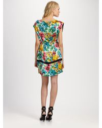 Marc By Marc Jacobs - Green Havana Floral Dress - Lyst