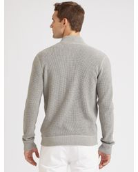 Michael Kors | Gray Zip-up Thermal for Men | Lyst