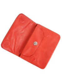 Ally Capellino - Red Bunty Leather Coin Purse - Lyst