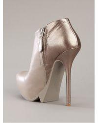 Camilla Skovgaard | Gray Saw Moon Ankle Boot | Lyst