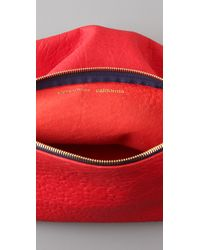 Clare V. | Red Foldover Clutch | Lyst