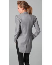 Dion Lee | Gray Intersection Tail Coat | Lyst