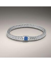 John Hardy | Blue Small Bracelet | Lyst