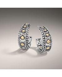 John Hardy | Metallic Naga Small Hoop Earring | Lyst