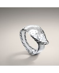 John Hardy | Metallic Small Sail Ring | Lyst