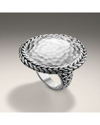 John Hardy | Metallic Large Round Ring | Lyst