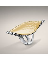 John Hardy | Metallic Large Sail Ring | Lyst