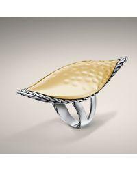 John Hardy - Metallic Large Sail Ring - Lyst