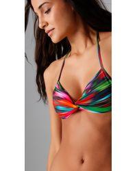 L*Space | Multicolor Desert Heat Twister Bikini Top | Lyst