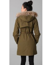 Marc By Marc Jacobs   Green Delancey Parka   Lyst