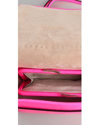 Theyskens' Theory - Pink Anen Mini Flap Bag - Lyst