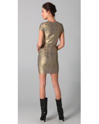 Torn By Ronny Kobo - Metallic Kaitlyn Dress - Lyst