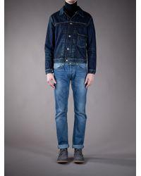 Edwin | Blue Vintage Denim Jacket for Men | Lyst