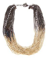 Iosselliani - Multi Strand Necklace - Lyst