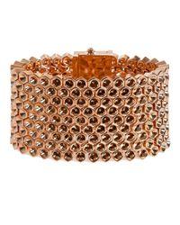 Mawi | Metallic Honeycomb Cuff | Lyst