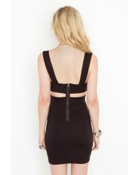 Nasty Gal - Black Precious Metal Dress - Lyst