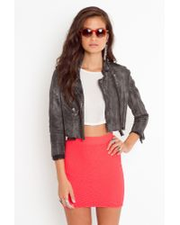 Nasty Gal - Red Layla Skirt - Coral - Lyst