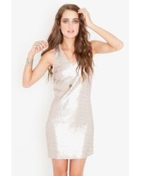 Nasty Gal | Green Mermaid Sequin Dress | Lyst