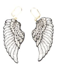 Rosita Bonita   Metallic Wing Earring   Lyst