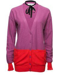 Sonia by Sonia Rykiel | Purple Colour Block Cardigan | Lyst