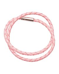 Tateossian | Pink Skinny Double Bracelet for Men | Lyst