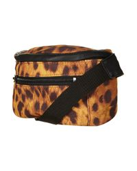 TOPSHOP - Brown Leopard Print Bumbag By Ashish** - Lyst