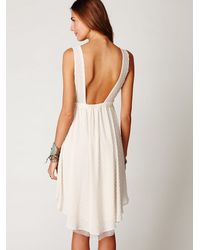 Free People | White New Romantics Confetti Lace Dress | Lyst
