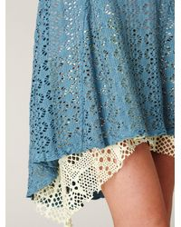 Free People | Blue Spring Crush Dress | Lyst