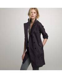 J.Crew | Blue Rousay Trench Coat | Lyst