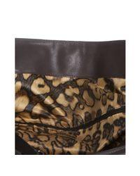 Longchamp | Brown Mocha Leather Gatsby Front Pocket Hobo | Lyst