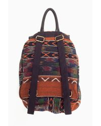 Nasty Gal | Multicolor Sari Woven Backpack | Lyst