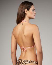 Roberto Cavalli | Pink Reversible Twist Monokini | Lyst