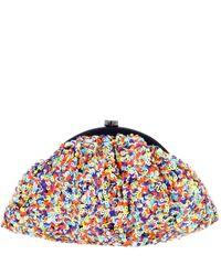 Santi - Multicolor Multi-sequin Clutch Bag - Lyst