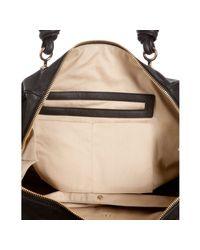 Chloé | Black Calfskin Janet Top Handle Shoulder Bag | Lyst