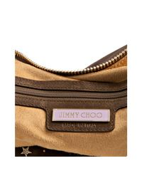 Jimmy Choo - Brown Large Leather Solar Hobo - Lyst