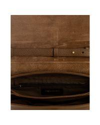 Saint Laurent - Brown Pleine Fleur Aniline Crossbody Bag - Lyst