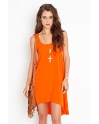 Nasty Gal - Orange Fanta Dress - Lyst