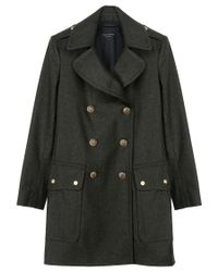 Rag & Bone | Green Admiral Coat | Lyst