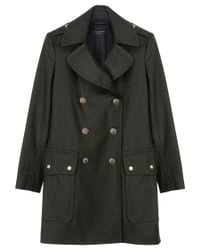 Rag & Bone - Green Admiral Coat - Lyst