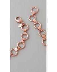 DANNIJO | Pink Keira Bib Necklace | Lyst