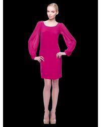 Erin Fetherston   Purple A-line Dress   Lyst