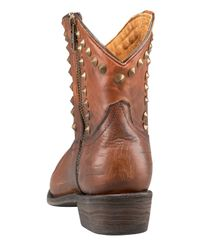 A.L.C. - Brown Studded Distressed Boot - Lyst