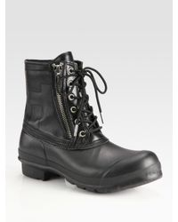 HUNTER - Black Kerrera Boots for Men - Lyst