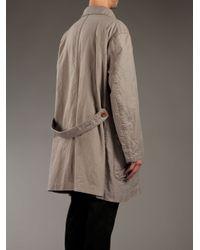 Kolor - Natural Double Breasted Coat for Men - Lyst