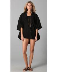 Mikoh Swimwear | Black Morocco Cover Up Caftan | Lyst